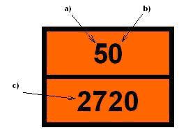 szállítóegységekre elhelyezendő tábla szerelvényeken elhelyezendő osztott  tábla 32420c6f93